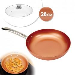 COPPER PAN KUPFERSCHALE 28CM