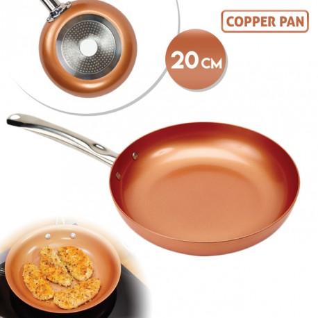 COPPER PAN KUPFERPFANNE 20CM