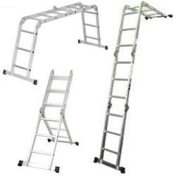 Escalera Multiposición Extra Larga Aluminio