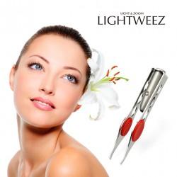 Pinzas de Depilación con Luz, LIGHTWEEZ