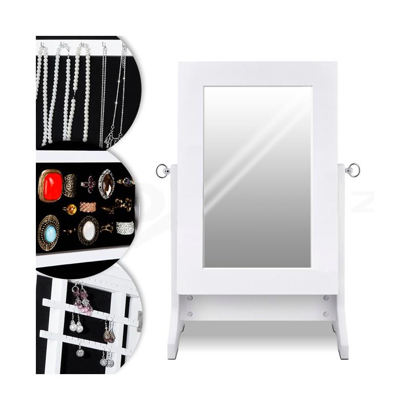 schmuckschrank mit spiegel teleshop direkt teleshopping. Black Bedroom Furniture Sets. Home Design Ideas