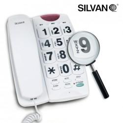 TELEFONO FIJOS CON TECLAS GRANDES Y ALTAVOZ