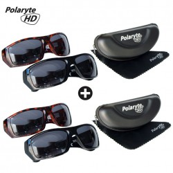 POLARSUN HD SONNENBRILLE 4ER SET