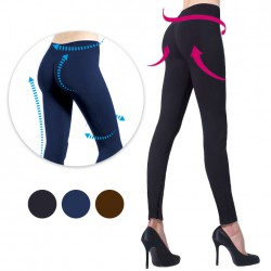 MARIE CLAIRE FIGURFORMENDE LEGGINGS